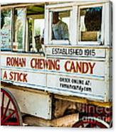 Roman Chewing Candy Nola Canvas Print