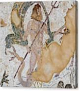Roman City Of Italica, Near Santiponce Canvas Print