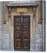 Roman Doors Canvas Print