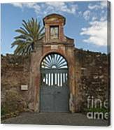 Roman Doorway Canvas Print