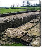 Roman Fort Ruins, England Canvas Print