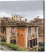 Roman House Canvas Print