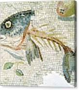 Roman Mosaic Canvas Print
