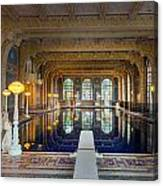 Roman Pool At Hearst Castle  Canvas Print