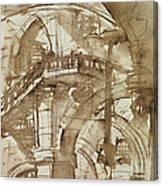Roman Prison Canvas Print