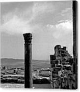 Roman Ruin Eleven Canvas Print
