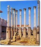 Roman Temple In Cordoba Canvas Print