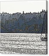 Romance II On Liberty Bay Canvas Print