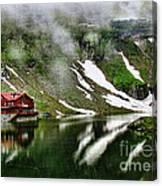 Romanian Glacier Lake Canvas Print