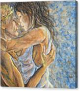 Romantic Cover Painting Canvas Print