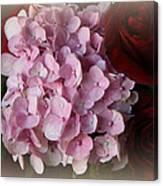 Romantic Floral Fantasy Bouquet Canvas Print