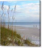 Romantic Secluded Beach Canvas Print