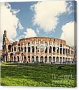 Rome Colosseum  Canvas Print