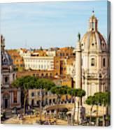 Rome, Italy. Rome, Italy. Piazza Della Canvas Print
