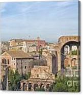 Rome Roman Forum 01 Canvas Print