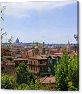 Rome Rooftop Canvas Print