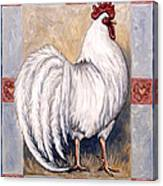 Romeo The Rooster Canvas Print