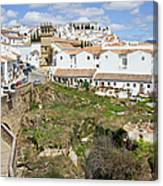 Ronda Old City In Spain Canvas Print