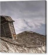 Roof Detail End Of An Era Canvas Print