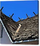 Roof Shingle Canvas Print