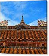 Roof Top Canvas Print
