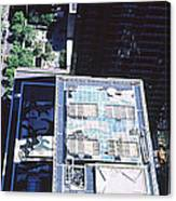 Rooftop Of Museum Of Modern Art Canvas Print