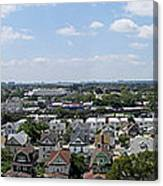 Jamaica Ny Rooftop Panorama Canvas Print