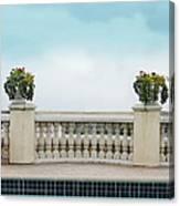 Rooftop Pool Canvas Print