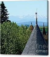 Rooftops Of Carcassonne Canvas Print