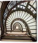 Rookery Building Oriel Staircase Canvas Print