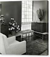 Room Designed By John And Earline Brice Canvas Print