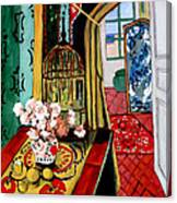 Room With A View After Matisse Canvas Print