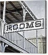 Rooms Canvas Print