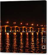 Roosevelt Bridge Panorama Canvas Print
