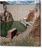 Roosevelt Dam Canvas Print