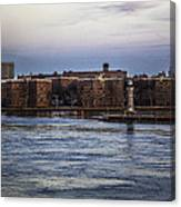 Roosevelt Island View - Nyc Canvas Print