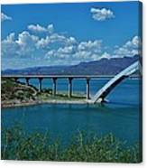 Roosevelt Lake 3 - Arizona Canvas Print