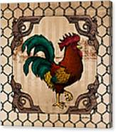 Rooster I Canvas Print