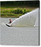 Rooster Tail Canvas Print