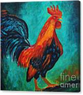 Rooster Tails Canvas Print