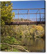 Root River Autumn 3 Canvas Print