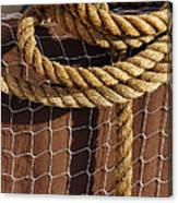 Rope And Net Canvas Print
