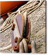 Ropes And Chains Canvas Print