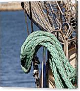 Ropes And Rigging Canvas Print