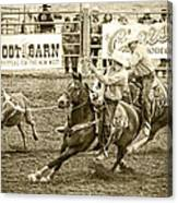 Roping Canvas Print