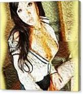Rosa Canvas Print