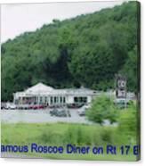 Roscoe Ny Diner Canvas Print