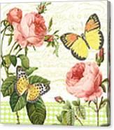 Rose Blush-a Canvas Print