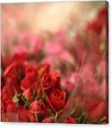 Rose Bouquet Canvas Print