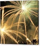 Rose Bowl Fireworks Canvas Print